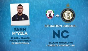 Officiel : M'Vila signe à l'Inter Milan !