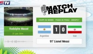 Argentine - Iran : Le Match Replay avec le son RMC Sport !