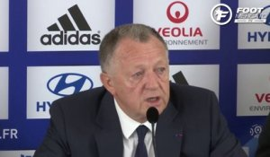 OL : le point mercato de Jean-Michel Aulas