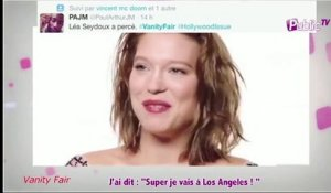 Public zap : Léa Seydoux pose pour Vanity Fair : In ou out ?
