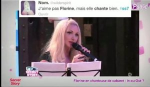 Public Zap : Florine en chanteuse de cabaret : In ou Out ?