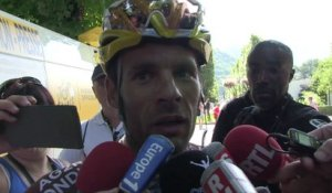"Tour de France 2014 - Etape 16 - Jean Christophe Péraud : "" On a toujours 2 cartes chez AG2R"""
