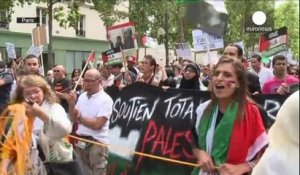 Manifestations pro-Gaza à Washington et à Paris