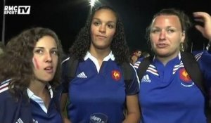 Rugby / Mondial féminin : les supporters tricolores heureux - 09/08
