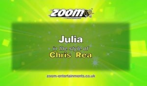 Zoom Karaoke - Julia - Chris Rea