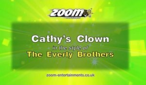 Zoom Karaoke - Cathy's Clown - The Everly Brothers