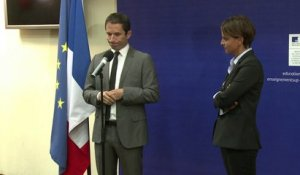 Hamon passe le relais à Vallaud-Belkacem à l'Education