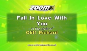 Zoom Karaoke - Fall In Love With You - Cliff Richard
