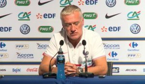 Bleus - Deschamps : ''Entretenir la flamme''