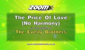 Zoom Karaoke - The Price Of Love (No Harmony) - The Everly Brothers