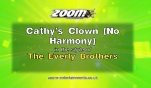 Zoom Karaoke - Cathy's Clown (No Harmony) - The Everly Brothers