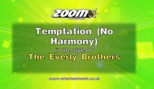 Zoom Karaoke - Temptation (No Harmony) - The Everly Brothers