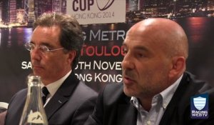 Conférence Natixis Rugby Cup - Hong Kong 2014