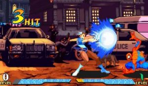 Marvel Super Heroes vs. Street Fighter - Gameplay - arcade