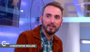 L'interview de Christophe Willem - C à vous - 04/12/2014