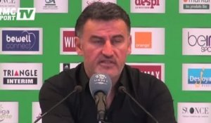 "Football / Galtier : ""32 points, une très grande performance"" 06/12"