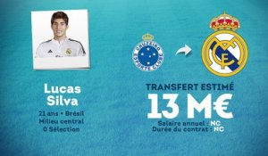 Officiel : Lucas Silva signe au Real Madrid !