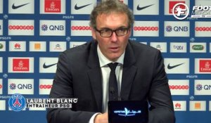 PSG-Montpellier : la réaction de Laurent Blanc