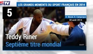 Retro / Le Top 10 des grands moments du sport français en 2014 avec le son RMC Sport - 30/12