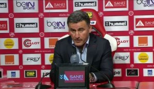 FOOT - L1 - ASSE - Galtier : «Point par point, on avance»