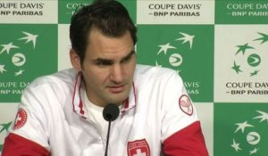 TENNIS - COUPE DAVIS - Federer : «On va faire le maximum pour gagner !»