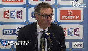 ASSE-PSG : la satisfaction de Laurent Blanc