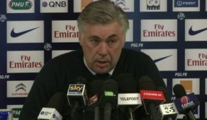 FOOT - L1 - PSG - Ancelotti : «Jallet et Maxwell sont forfaits»