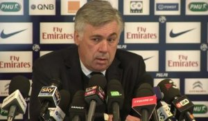FOOT - C1 - PSG - Ancelotti : «C'est une question de courage !»