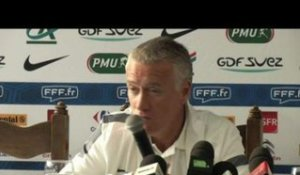 FOOT - Bleus - Deschamps : «Nasri a une énorme motivation»