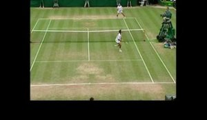 LES GOLDEN MOMENTS : 2001, Ivanisevic vs Rafter