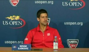 TENNIS - US OPEN - Djokovic : «Je me suis adapté»