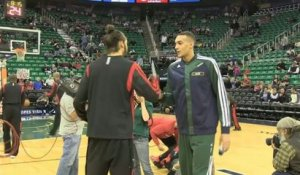 BASKET - NBA : Rudy Gobert fait son trou