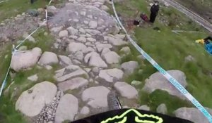 UCI World Cup 2014 : le run final de Cam Cole à Fort William filmé en GoPro