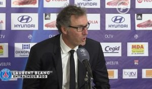 OL-PSG : réaction de Laurent Blanc
