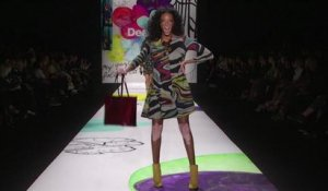 Défilé Desigual pendant la Fashion Week de New York en février 2015