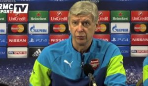 "Football / Wenger : ""Arsenal est favori"" 24/02"