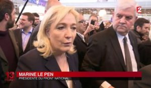 Salon de l'agriculture : opération séduction de Marine Le Pen