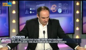"La minute d'Olivier Delamarche: Quantitative easing: ""On fait du QE quand on n'a pas de QI !"" - 02/03"