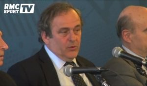 "Football / Platini : ""Chelsea-PSG, un beau spectacle"" 12/03"