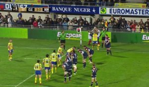 TOP14 - Clermont-Bordeaux: 31-23 - J20 - Saison 2014/2015