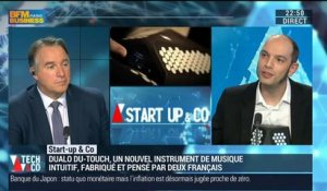 Start-up & Co: Dualo du-touch, un instrument de musique intuitif - 17/03