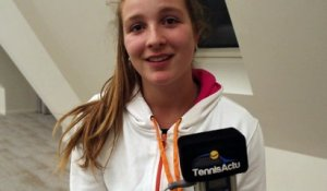 Tennis - ITF / WTA - Vicky GEURINCKX ambassadrice de la fondation Hope and Spirit