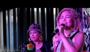 YENG CONSTANTINO sings Dance Without The Music at All About Love Grand Album Press Conference