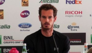 ATP - Rome 2015 - Andy Murray déclare forfait face à David Goffin