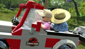 "LEGO Jurassic World - Bande Annonce / Gameplay Officiel ""LES DINOS"""
