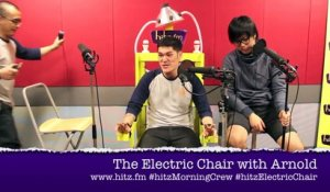 The hitz fm Electric Chair : Arnold