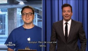 Quand Jimmy Fallon teste en live Apple Music - Tonight Show du 9/06 sur MCM !