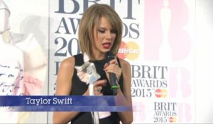 Taylor Swift and Sam Smith Are Big Winners At The 'Brit Awards'