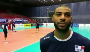 Volley - Ligue Mondiale - RTC-FRA : N'Gapeth «Concentration et agressivité»