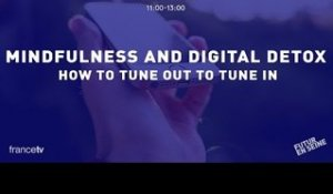 Mindfulness and digital detox (Futur en Seine 2015)